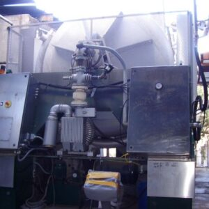 Prensa de membrana Pera PN 260 de segunda mano, instalación completa