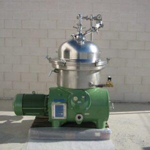 Used Westfalia centrifuge SA 45 36 076 for wine and juices