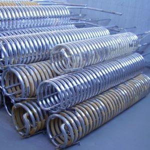 serpentines inox usados