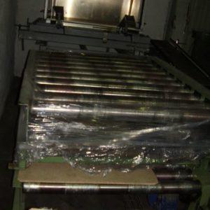 65012_cinta transportadora de palet usada