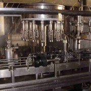 used rinsing filling and corking monobloc Gai 3004
