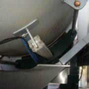 Prensa de membrana Pera PN 260 de segunda mano, instalacioncompleta con sinfin, reserva de aire