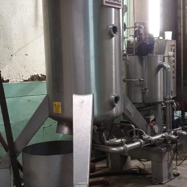 used kiesleguhr filter Dellla toffola NF 20