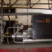 used rotary vacuum filter Della toffola 30 m2