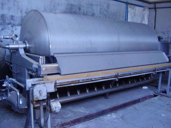 31219_Cadalpe rotary vacuum filter used