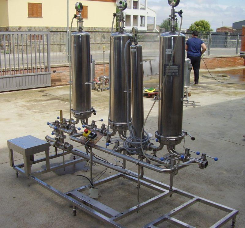 bancada de filtracion Sartorius usada