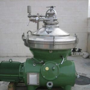Used Westfalia centrifuge SA 80 47 076