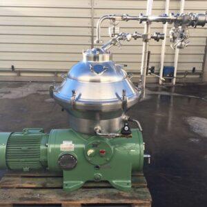 Used Westfalia centrifuge SA 20 06 076 for wine and juices