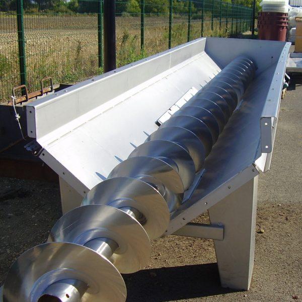 sinfin inox diametro 400 usado