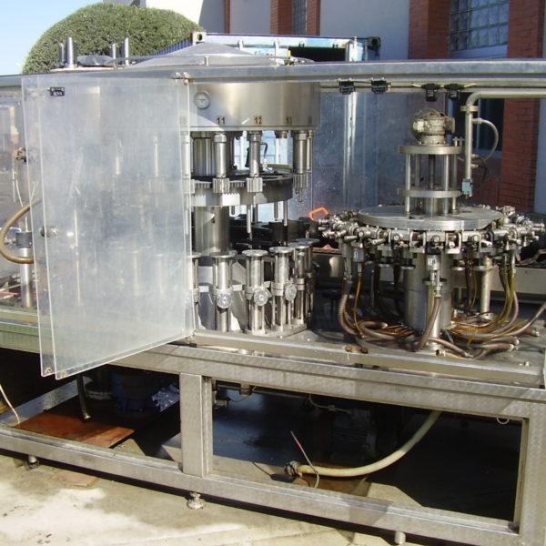 monobloc GAI 5003 enjuagadora llenadora tapadora