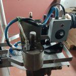 etiquetadora adesiva OMB ET 1500 con capsuladora termica