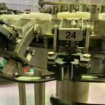 second hand AVE rinser 24 noozles ex wine bottling line
